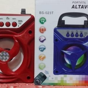 ALTAVOZ BS-023T Portable Speaker Multicolour with High capacity lithium battery