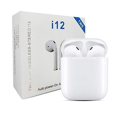 Buy Online TWS i12 With SENSOR TOUCH Airpods Price in Pakistan