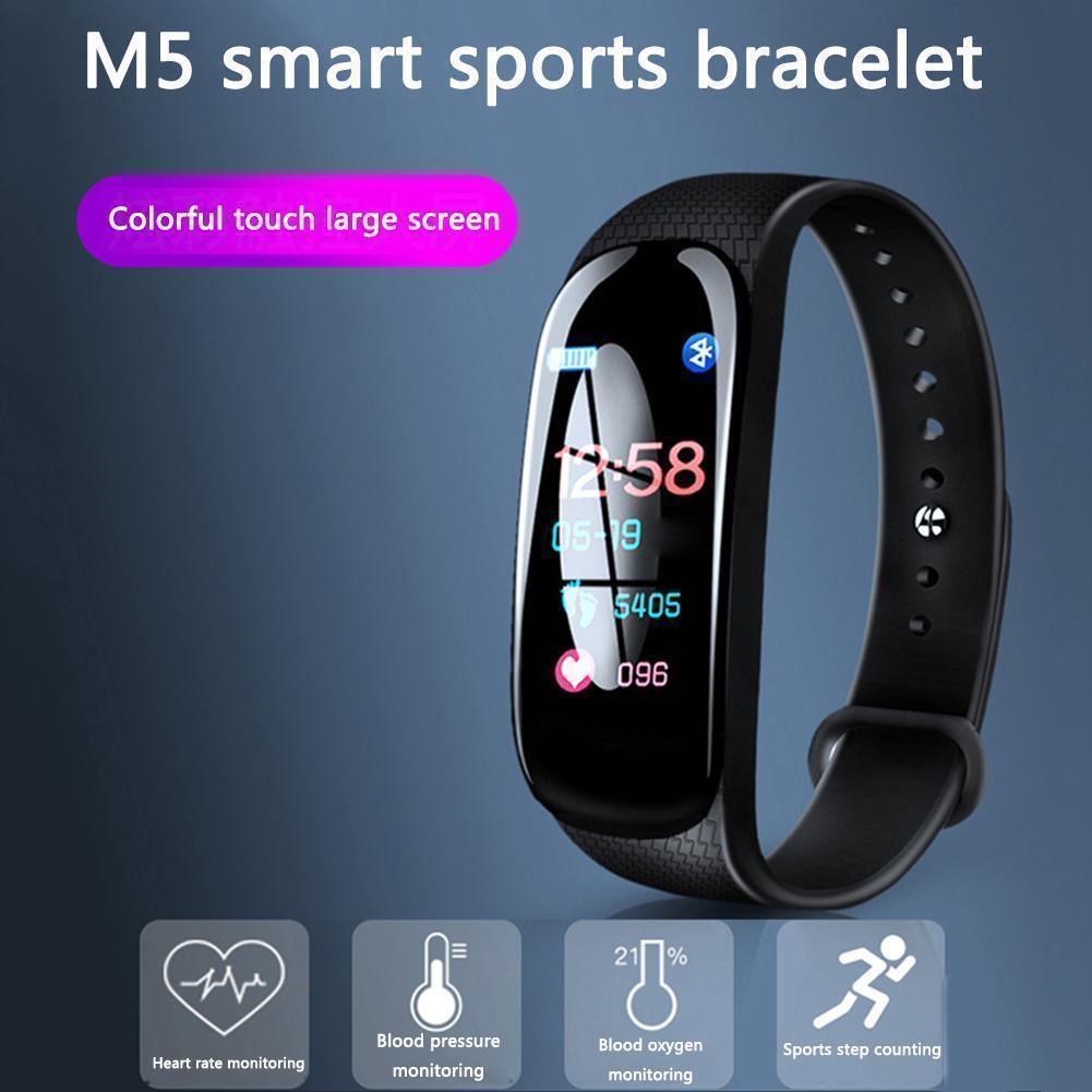Buy Online M5 Smart band 5 Fitness Tracker Price In Pakistan