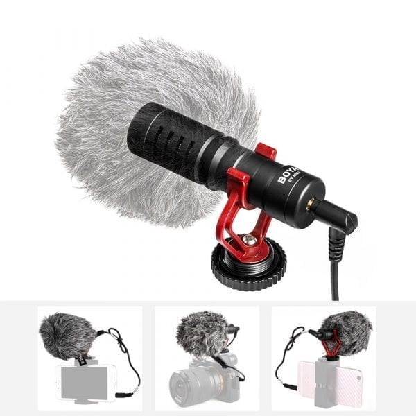 Buy Online MIC BOYA BY-MM1 COMPACT ON-CAMERA VIDEO MICROPHONE YOUTUBE VLOGGING RECORDING Price in Pakistan