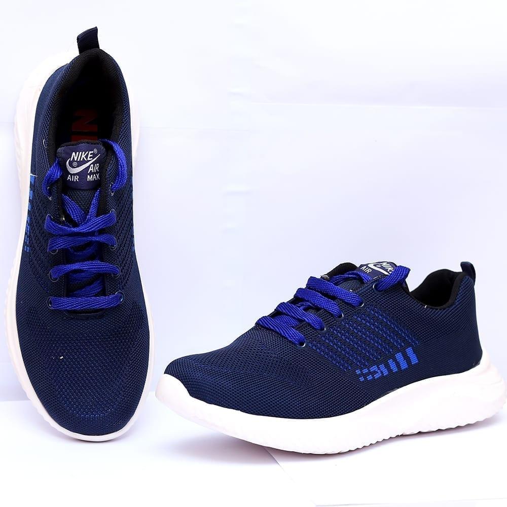 Buy Online Men Running Shoes Navy Blue Color Price In Pakistan